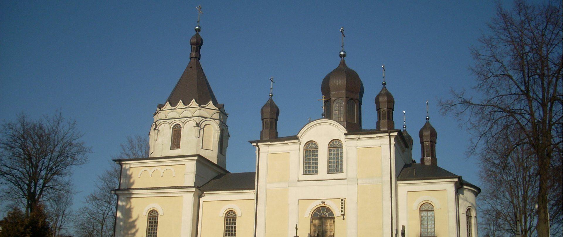 Cerkiew Piotra i Pawła z XIX w.