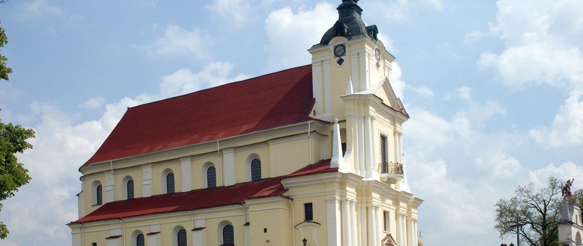 Kościół WNMP w Siemiatyczach z XVII w.