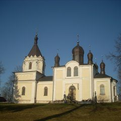 19th century orthodox church of Peter and Paul