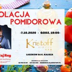 Kolacja pomidorowa z Mikołajem Reyem