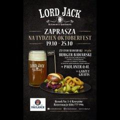 Tydzień Oktoberfest w Lord Jack