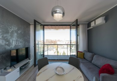 Nr 5. Apartament 45m2 z widokiem na rzekę