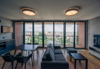 Apartment z widokiem na rzekę i miasto 11 piętro