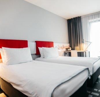 Ideales Hotel für preiswerte Übernachtungen in Flughafennähe.