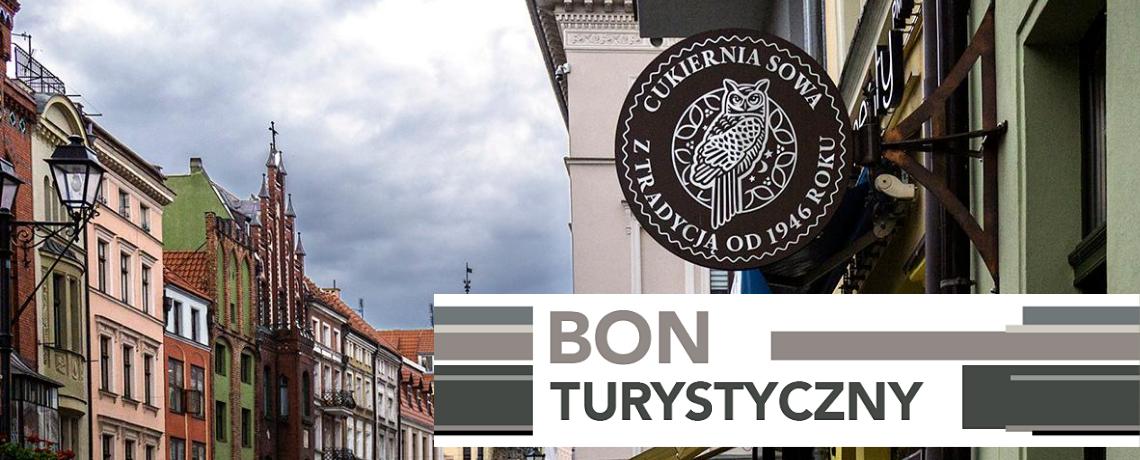 Realizujemy bony turystyczne - Toruń