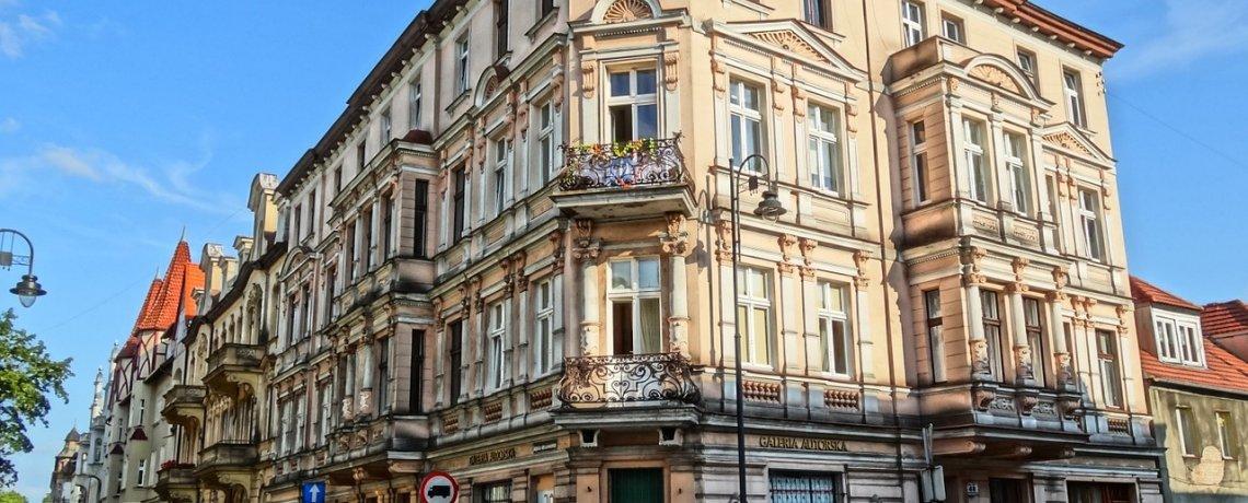 Ulica Augusta Cieszkowskiego