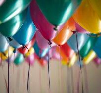 Birthdays, jubilees, occasional parties