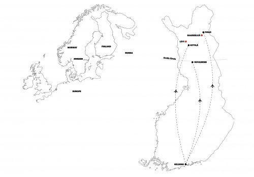 The Flight Routes