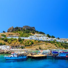 Rhodes Town & Lindos