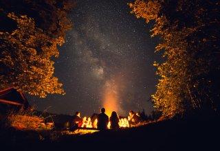 Miejsce na ognisko i grilla w ogrodzie