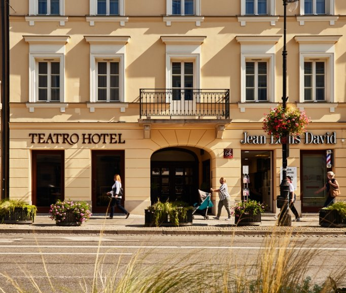 Nowy Świat The heart of Warsaw. The only boutique hotel of its kind.