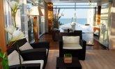 Strefa chillout w budynku SPA - Hotel Bryza