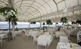 Letnia restauracja Markiza na samej plaży