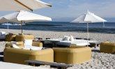 Widok na plaże przy Hotelu Bryza