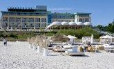 Plaża przy Hotelu Bryza
