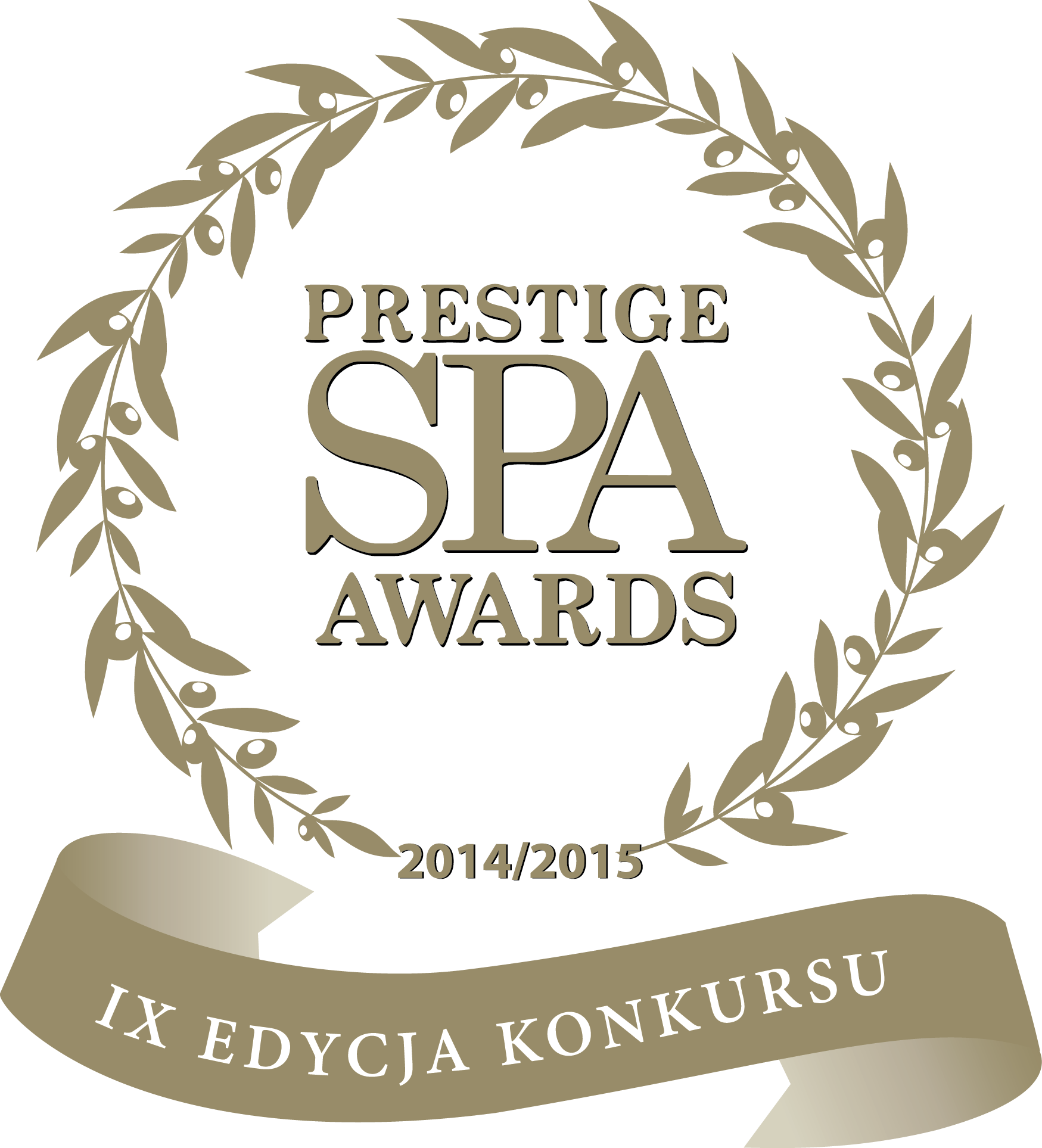 Spa Prestige Awards w kategorii SPA PRESTIGE DESIGN AWARD 2014/2015