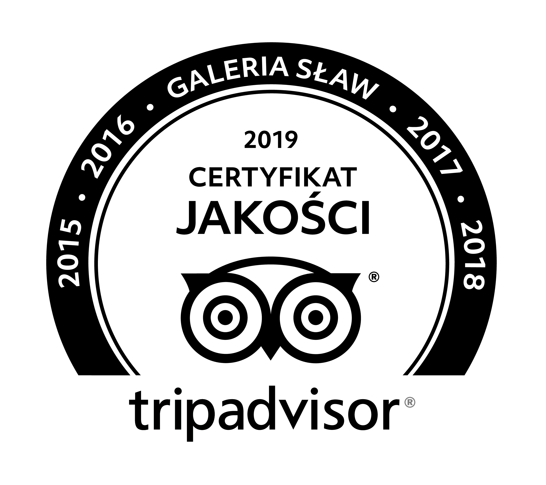TRIPADVISOR - GALERIA SŁAW 2019