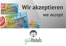 Wir akzeptieren gut-Hotels-gruppe