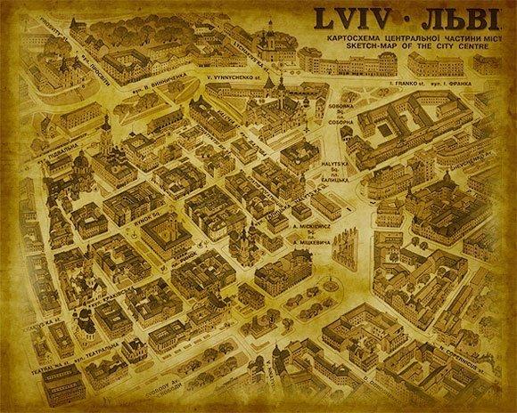 UKRAINA - Lwów