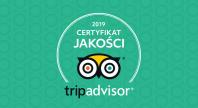 05.28.2019 - TripAdvisor - Certyfikat Jakości 2019