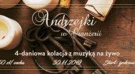 2019-10-04 - Wieczór Andrzejkowy w Oranżerii