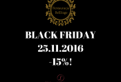BLACK FRIDAY w Restauracji BelEtage