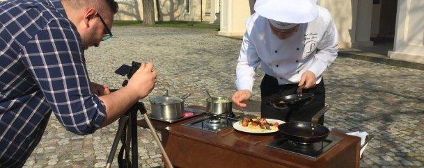 Kuchnia hrabiego, czyli program kulinarny na YouTube - odcinek 1.
