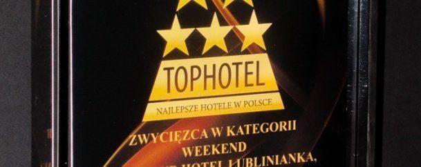 Zdobyliśmy nagrodę TOPHOTEL 2015 w kategorii