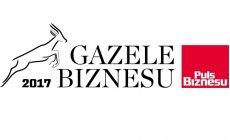 Otrzymaliśmy tytuł Gazeli Biznesu 2017