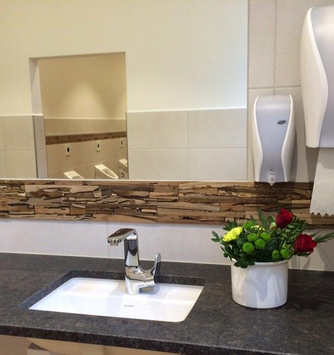 Fertigstellung unserer neuen WC-Anlage