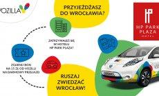 Zwiedzaj WROCŁAW z VOZILLĄ - samochodem elektrycznym na minuty !